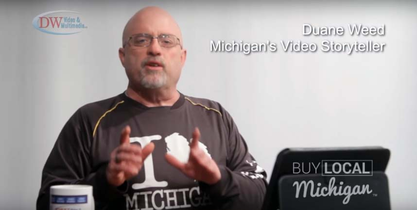 Promoting Michigan with Video