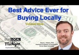 Best advice ever for buying locally