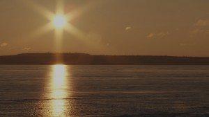 Michigan Winter sunrise
