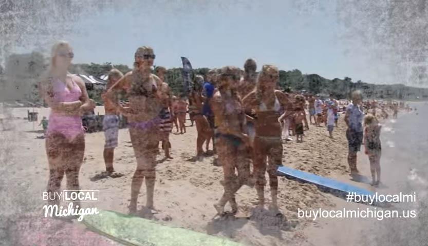 Grand Haven Michigan Fun on the beach