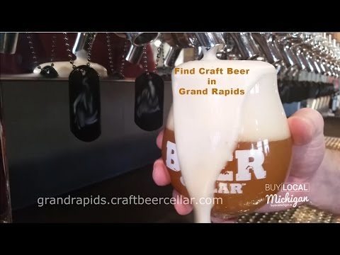 Searching Grand Rapids for Craft Beer