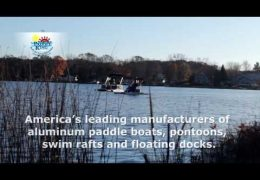 Michigan Made Manufacturer Aluminum Paddle-Pontoon Boats