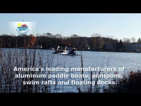 Michigan Made Manufacturer Aluminum Paddle-Pontoon Boats