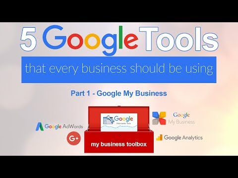 5 Google Tools for Your Business