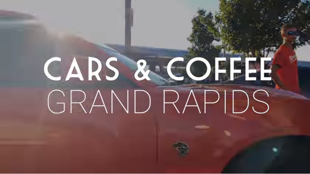 Grand Rapids Michigan Cars and Coffee Downtown