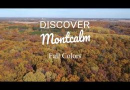 Autumn arrives in Montcalm County Michigan