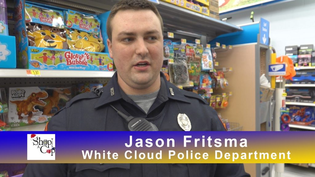 Shop with a Cop Fremont Michigan